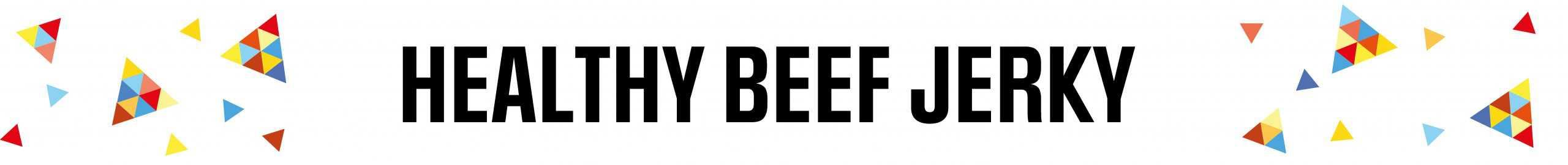 healthy beef jerky UK